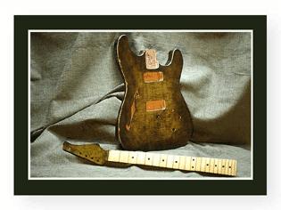 Maple Stratocaster Body
