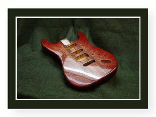 Red Stratocaster Body