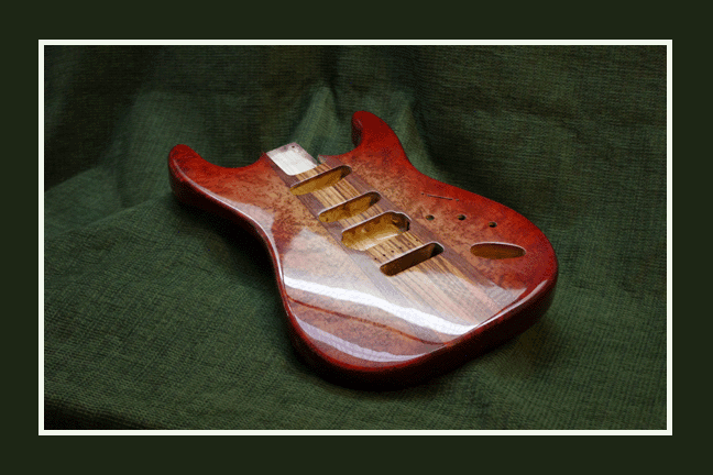 Red Stratocaster Body