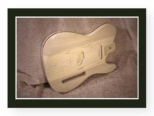 Cream Telecaster Guitar Body