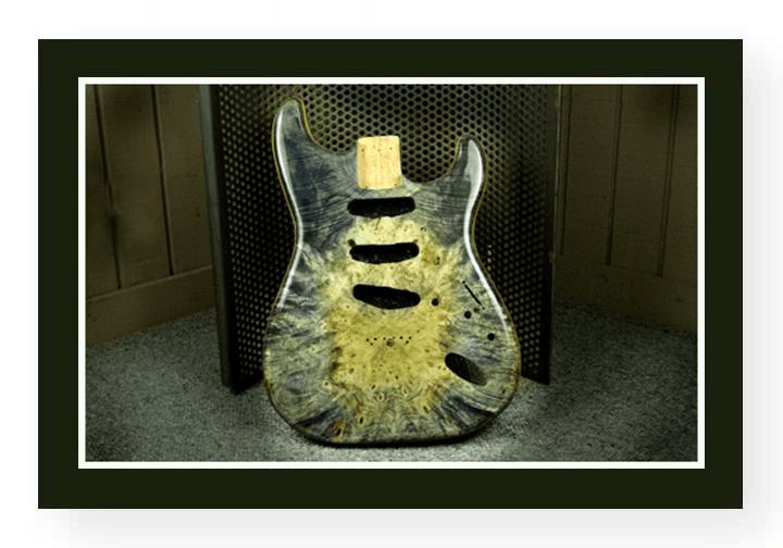 Buckeye Burl Stratocaster Guitar
