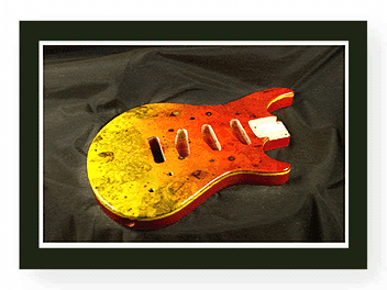 Hard Tail Stratocaster Guitar